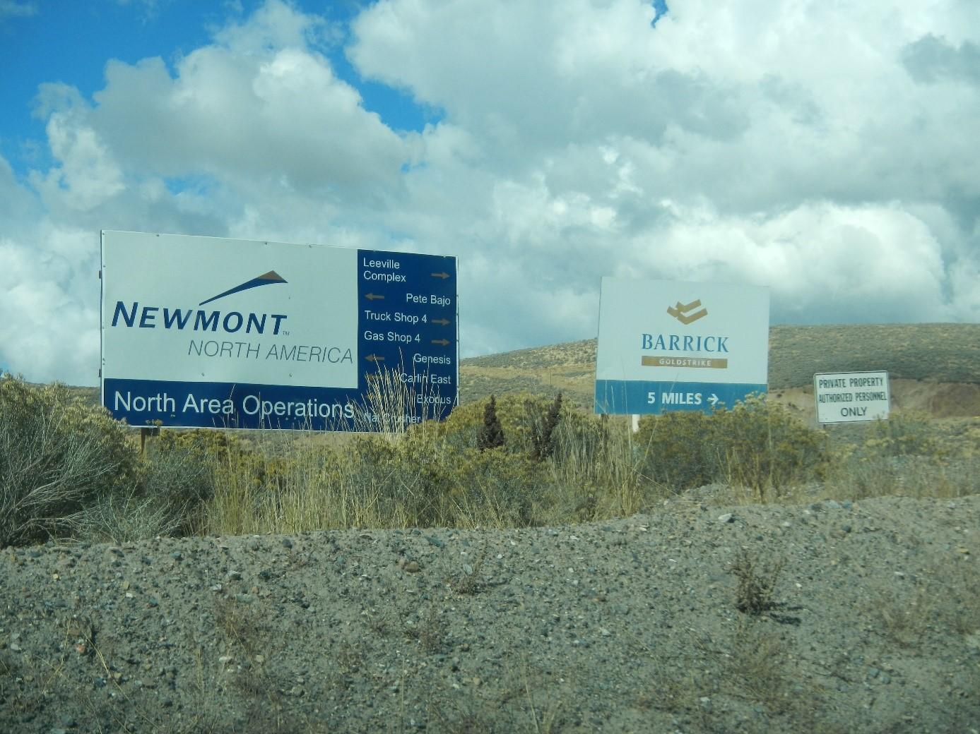 GSV - Newmont und Barrick