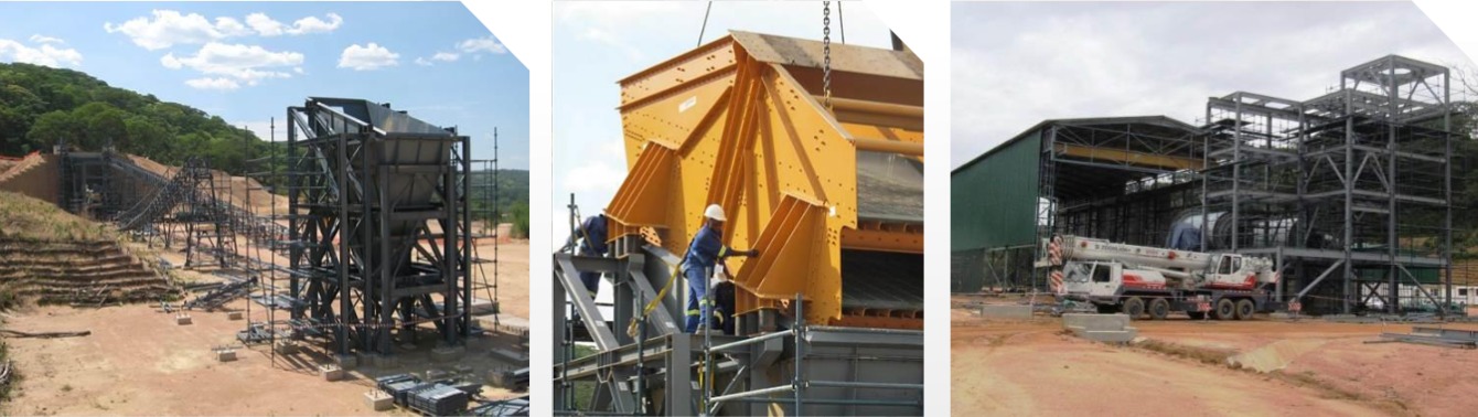 Mawson West Produktionsaufbau auf Kapulo