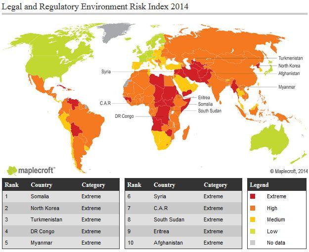 Investitionsrisiken: Myanmar und Mosambik machen große ...