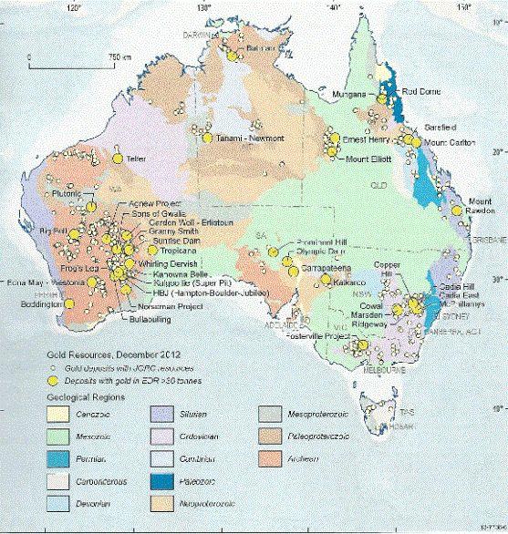 Gold In Australien