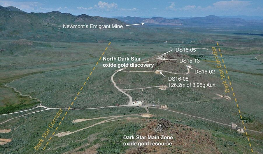 Pic 1 North Dark Star Lage