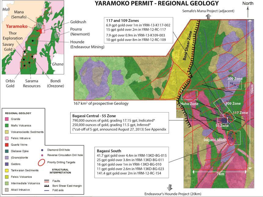 Roxgold Projekt Yaramoko